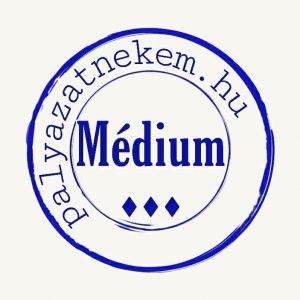 Médium csoportos pályázatfigyelés