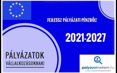 Pályázatok vállalkozásoknak 2021